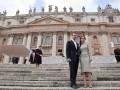 Актеры фильма Воскресение лично встретились с Папой Римским