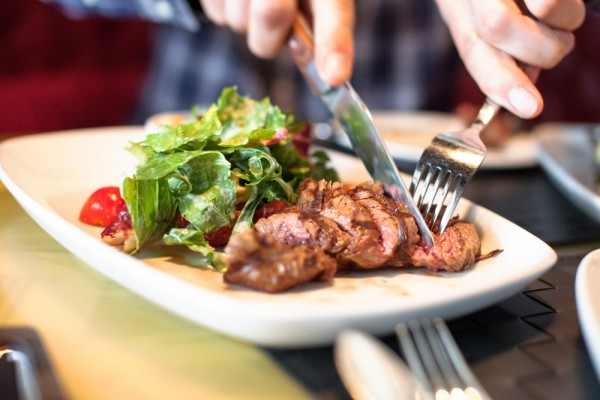 Стейк-салат по-итальянски