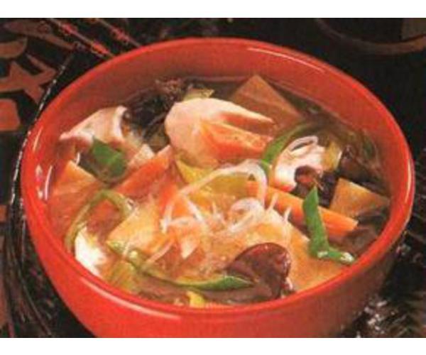 Рецепт                  Суп по-китайски