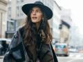 10 образов с шарфом-пледом