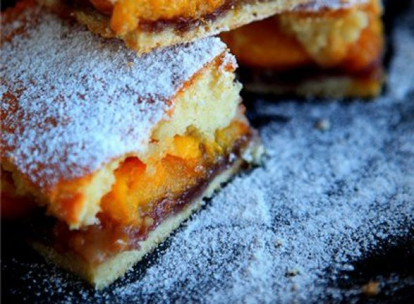 Рецепт                  Персиковый пирог