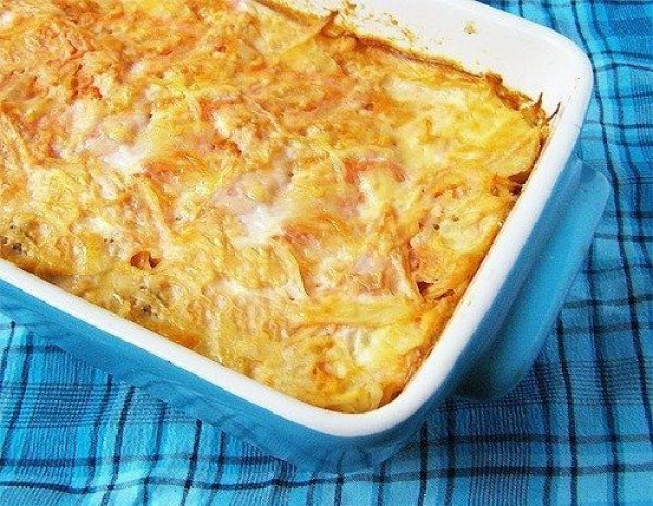 Капустная запеканка: вкусный рецепт закусочного блюда
