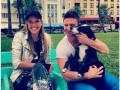 Катя Осадчая работает и отдыхает в Майами