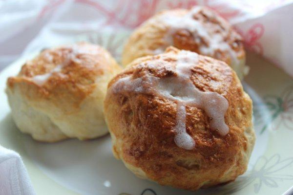 Рецепт                  Крестовые булочки