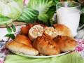 Пирожки с молодой капустой и яйцом