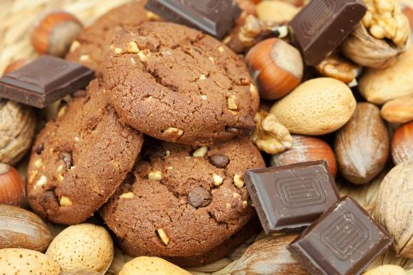 Рецепт                  Шоколадное овсяное печенье