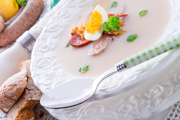 Рецепт                  Польский пасхальный суп