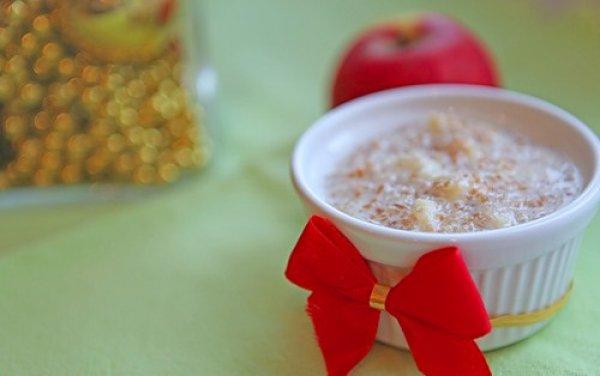 Рецепт                  Пшеничная каша с яблоками