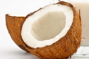 Кокосовое масло не содержит холестерина и богато витамином Е