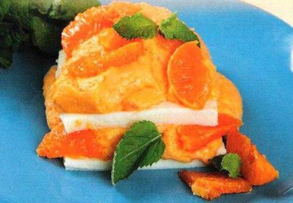 Рецепт                  Апельсиновый пудинг
