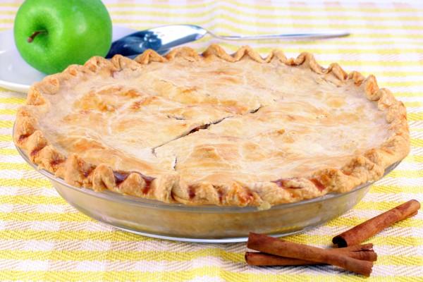 Рецепт                  Закрытый яблочный пирог с корицей