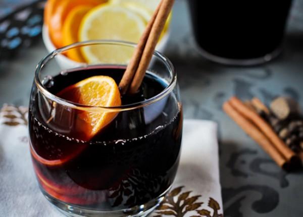 Рецепт                  Глинтвейн с яблочным сидром