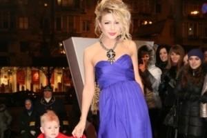Тина Кароль с собственным малышом