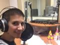 Анита Луценко стала радиоведущей