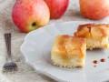 Рецепт шарлотки с яблоками и карамелью