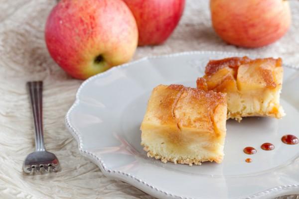 Рецепт                  Рецепт шарлотки с яблоками и карамелью