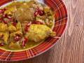 Жаркое из курицы с зернами граната от Джейми Оливера