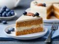 Постный морковный торт без выпечки