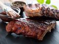 Свиные ребрышки в соусе барбекю