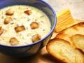 Как приготовить сырный суп с гренками (видео)