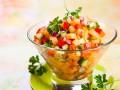 Сальса из манго, огурцов и сладкого перца