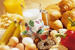 Продукты для здорового завтрака