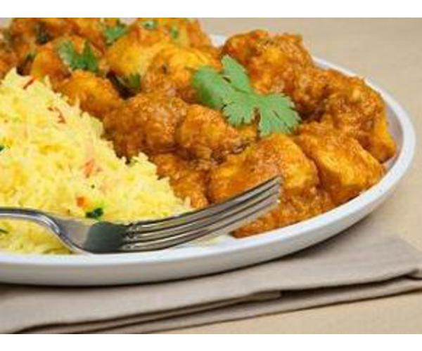 Рецепт                  Курица-карри с рисом