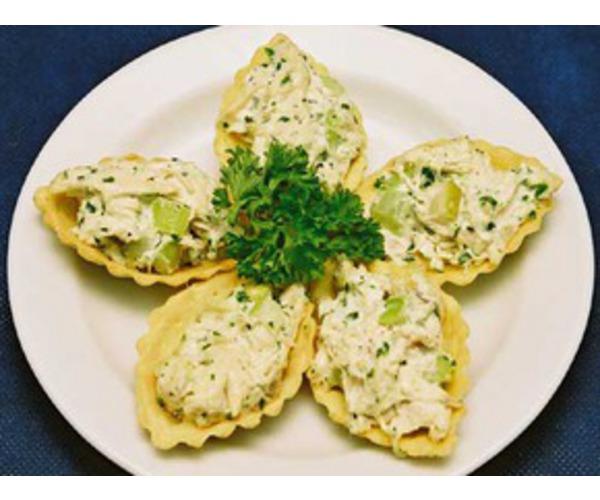 Рецепт                  Тарталетки с куриным салатом