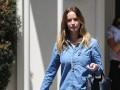 Эмили Блант появилась на публике через месяц после родов
