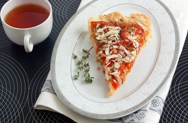 Рецепт                  Тарт с помидорами черри