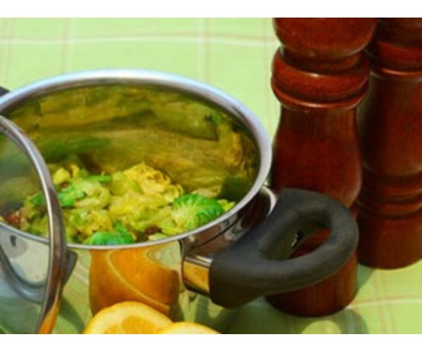 Рецепт                  Жареная брюссельская капуста