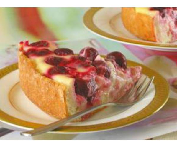 Рецепт                  Сметанник с ягодами