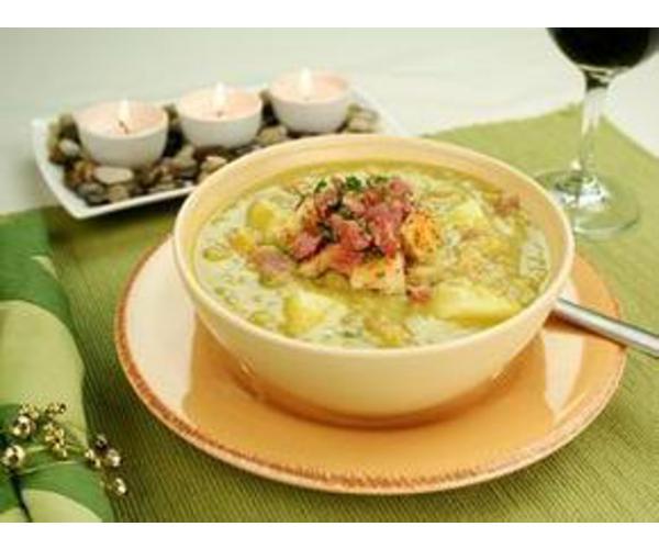 Рецепт                  Суп гороховый с копченостями