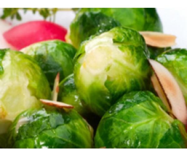 Рецепт                  Пикантная брюссельская капуста