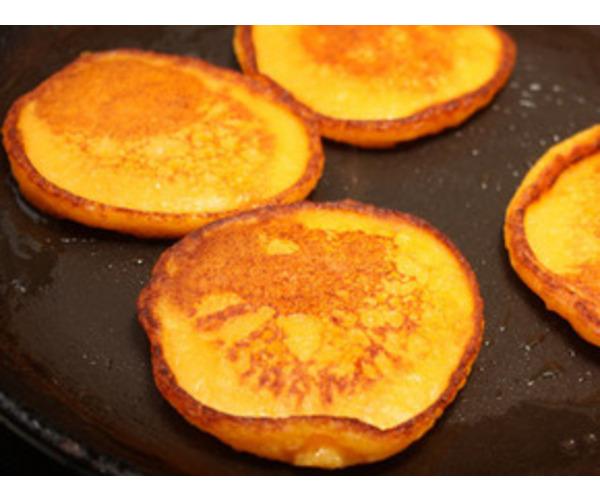 Рецепт                  Апельсиновые оладьи