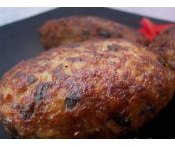 Рецепт                  Свиные котлеты с грибами