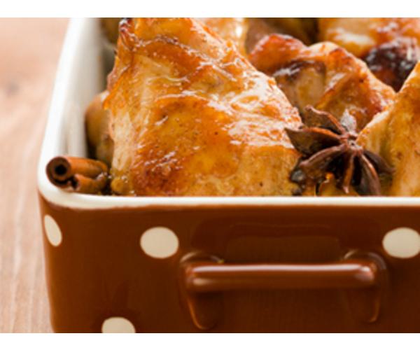 Рецепт                  Ароматная курица