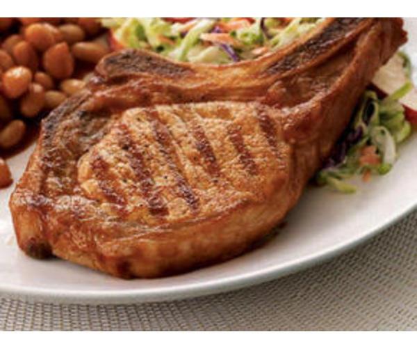 Рецепт                  Свинина на кости с овощами