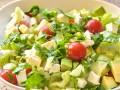 Весенний салат из авокадо с фетой