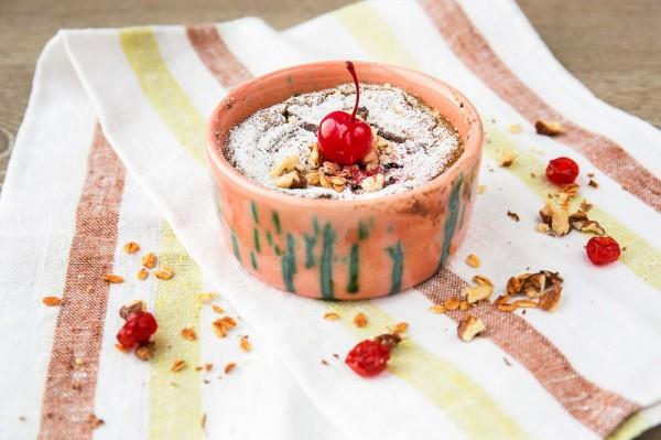 Суфле из авокадо с шоколадом от Евгения Клопотенко
