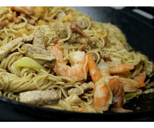 Рецепт                  Сингапурский чоу мейн