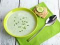 Холодный огуречный суп-пюре