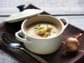 Постный крем-суп из фасоли