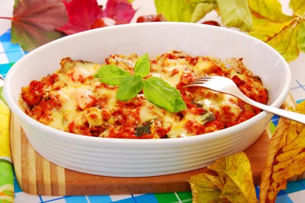 Рецепт                  Запеканка из овощей и фарша
