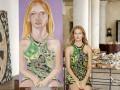Портреты итальянского художника украсили страницы модного глянца