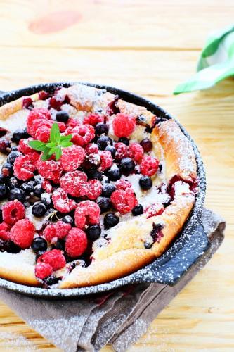 Рецепт                  Датские оладьи с летними ягодами