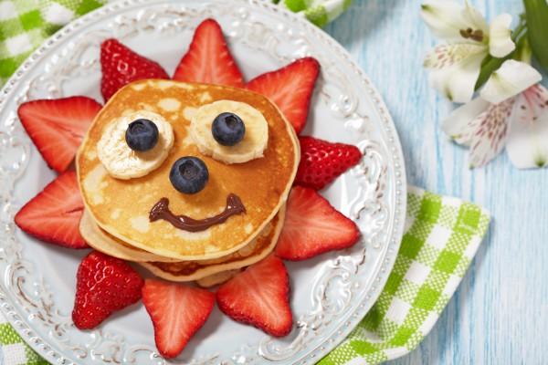Рецепт                  Масленица 2015: Детские блины с фруктами