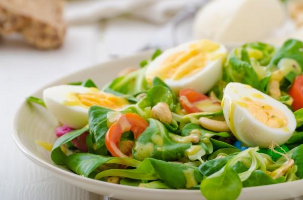 Рецепт                  Салат из овощей и яиц
