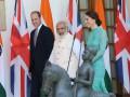 Принц Уильям и Кейт Миддлтон встретились с премьер-министром Индии