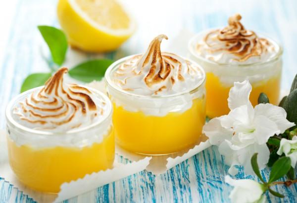 Рецепт                  Лимонные меренги